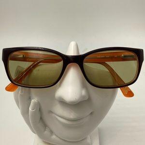 Nike 5504 Orange/Purple Oval Sunglasses Frames